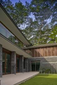 zen inspired residence in singapore encompassed by luxuriant