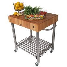 boos d u0027amico kitchen trolley with butcher u0027s block peter u0027s of