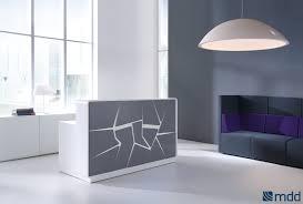 inspiring reception desk designs reception table