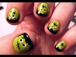 halloween nail tutorial lil u0027 frankies youtube