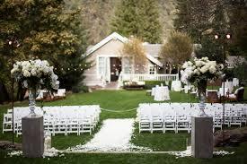 Simple Backyard Wedding Ideas Elegant Backyard Wedding Ceremony Elizabeth Anne Designs The