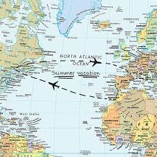 Dc Comics World Map by Amazon Com Brewster Wall Pops Wpe99074 Peel U0026 Stick World Dry