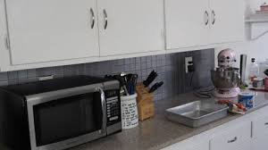 painted kitchen backsplash photos paint a kitchen tile backsplash diy home guidecentral