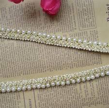 pearl lace pearl applique ebay