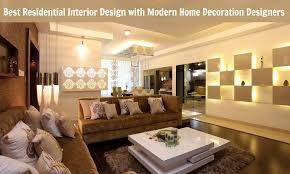 Best Residential Interior Design With Modern Home Decoration - Modern residential interior design
