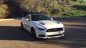 White Mustang Black Wheels 2015 Ford Mustang Gt Update Youtube