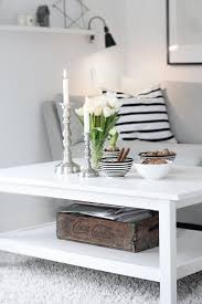 White Coffee Table Great Modern White Living Room Tables With Regard To Residence