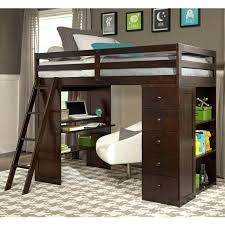 white twin loft bed with desk full size loft bed with storage and