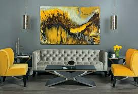Yellow Living Room Chair Living Room Amazing Gray And Yellow Living Room Decorating Ideas
