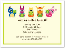 birthday invitation words birthday invitations for kids child birthday party invitation