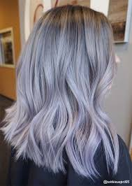 salt and pepper hair with lilac tips silver hair trend 51 cool grey hair colors tips for going gray