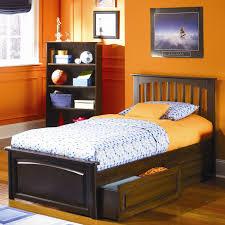 bedroom sweet teenage bedroom design with brown wood daybeds