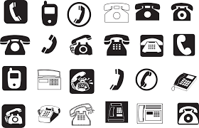 phone icons vector eps free download logo icons clipart