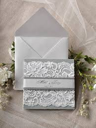 silver wedding invitations silver wedding silver and grey wedding invitation 2218035