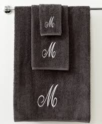 Lacoste Bathroom Accessories by Bathroom Monogram On Towels Monogrammed Towel Monogrammed