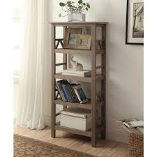 linon home decor bookcases home office furniture the home depot