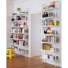Modern White Bookcases by Furniture Modern White Wall Bookshelves For Living Room Wall Wall