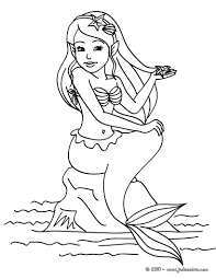 beauty realistic mermaid coloring pages 2263 realistic mermaid