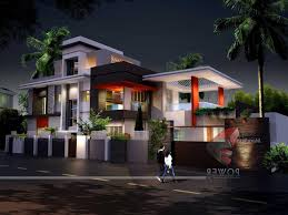 ultra modern house plans homes in kerala india