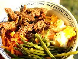 cuisine cor馥nne recettes recette de bibimpap bol coréen