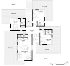 plan de maison 3 chambres salon plan de maison 3 chambres plain pied get green design de maison