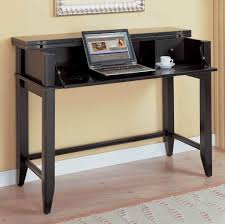 Ikea Desk Small Furniture Rollable Black Computer Desk And Storage Buffet For