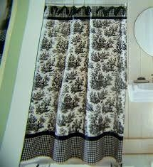 Hippie Curtains To Cheer Up Your Room Toile Shower Curtain For The Bathroom Perfection Abetterbead