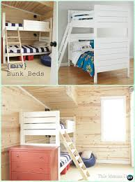 Free Diy Bunk Bed Plans by Diy Kids Bunk Bed Free Plans Picture Instructions