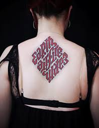 female back tattoo designs 45 rare ambigram tattoos designs for men u0026 women check more at