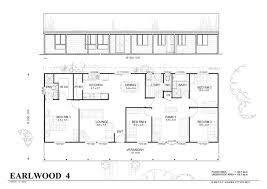 kit home plans met kit homes floor plans earlwood 4 affordable budget steel