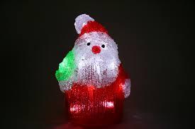 light up acrylic santa snowman beer christmas outdoor indoor led