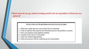 algebra i unit 2 lesson 3 solve for x objectives swbat set up and