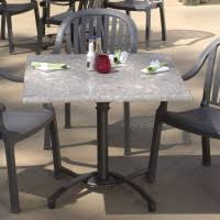 Used Restaurant Patio Furniture Natural Cafe Seating With Dark Iron Chairs Combined Rounded Dining