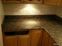 Backsplash Tile Paint by Granite Countertop Kitchens Cabinets Designs Metallic Backsplash