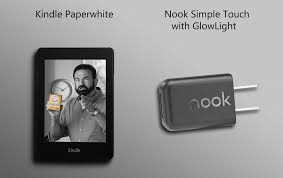 Kindle Paperwhite Barnes And Noble Kindle Paperwhite Vs Nook Simple Touch With Glowlight