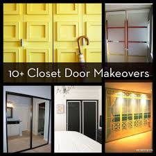 Painting Sliding Closet Doors Roundup 10 Easy And Diyable Closet Door Makeovers Curbly