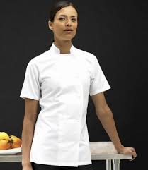 tenu de cuisine femme vetement de cuisine élégant vetement pro cuisine cool vetement de
