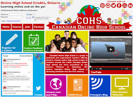 canadian high school online canadian online high school offering online high school credits