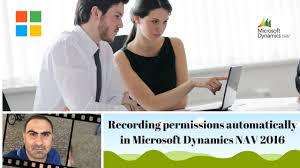 how to create user permissions by recording permissions