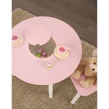 kidkraft round table and 2 chair set kidkraft round table 2 chair set pink white 26165