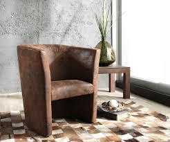 Wohnzimmer Lounge Bar Coburg Designsessel Goya Braun Gepolstert Antik Optik Lounge Chair Sessel