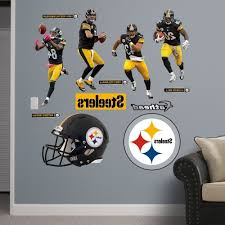 Wwe Wall Stickers Steelers Wall Decals Home Design Ideas