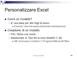 dispensa excel microsoft office excel powerpoint access ppt scaricare