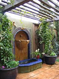 exterior design vivacious outdoor patio ideas with diy water