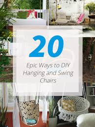 Cool Things To Buy For Your Room Hammock Pod Swing Chair by 20 Epic Ways To Diy Hanging And Swing Chairs Home Design Lover
