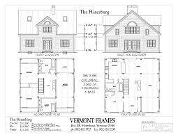 A Frame Home Floor Plans by Hinesburg Cape Vermont Frames