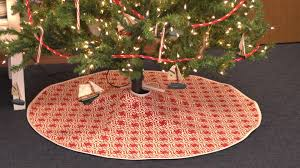 tree skirts how to make a christmas tree skirt