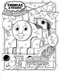 thomas coloring picture