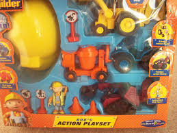 bob builder bob u0027s action playset born play amazon uk