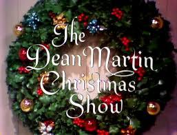 christmas tv history dean martin show christmas 1968
